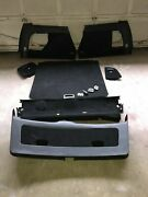 Lot Of Used Vw Mk4 Jetta Wagon Trunk Panels Black / Small Covers Not Included