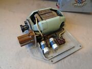 Electric Motor And Base 220v From Vintage Pfaff Automatic 332 Sewing Machine