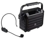 Portable Mini Bluetooth Pa System With Wireless Headset Microphone 30w