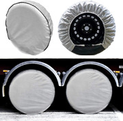 Tire Covers Set Of 4 5 Layer Wheel Covers For Rv Trailer Camper Truck Motorhome