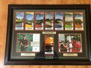 Tiger Woods Wins 2008 Us Open Framed With Authenticated Autograph And Coa