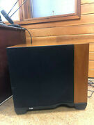 Bowers And Wilkens Asw - 4000 Subwolfer Solid Cherry Speaker Mint Condition