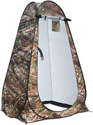 Privacy Tent Shower Tent Portable Outdoor Camping Bathroom Toilet Pop Up Camo