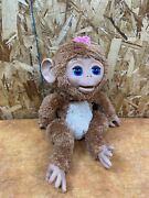 Hasbro Furreal Friends Cuddles My Giggly Monkey Interactive Pet 2012 Works