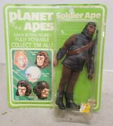 1967 Planet Of The Apes By Mego Soldier Ape 8 Figure - New In Package