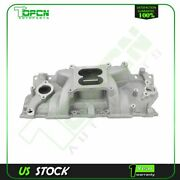 Engine Intake Manifold Fit For 1955-86 Small Block Chevy 262-400