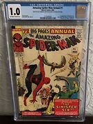Amazing Spider-man Annual 1 Cgc 1.0 1964 1st Appearance Of The Sinister Six