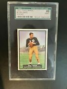 1951 Topps Magic Bill Wade Unrubbed Sgc 8 Population 1/1