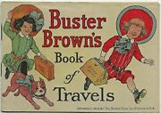 1912 Buster Brown's Book Of Travels R F Outcault Blue Ribbon Shoes