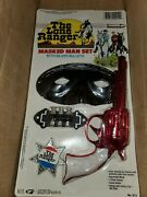 1989 The Lone Ranger Moc Masked Man Play Set W/ Silver Bullets With Shipper Box