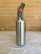 """Franklin Electric 2445059004g Submersible Well Pump 4"""" 3 Wire 1/2hp 230v 3450rpm"""