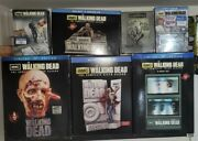 Walking Dead Limited Edt Blue Ray 1-6 1 Signed By Shane. Brand New. Total Of 8br