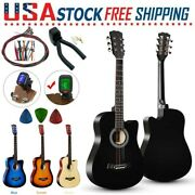 38and039and039 Beginner Acoustic Guitar Kids Adult Starter Accessories String Tuner Holder