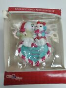 Precious Moments Ornament 2014 Our First Christmas Together Open Box. Free Ship.