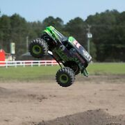 Losi - Grave Digger Lmt 4wd Solid Axle Monster Truck 110