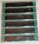 Very Rare Rivarossi N Scale 6 New Haven Passenger Cars Heavy Weights