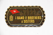 Us Army Combat Readiness Safety Center Band Of Brothers And Sisters Challenge Coin