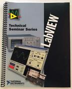 National Instruments Labview Technical Seminar Series Proven Productivity 1997
