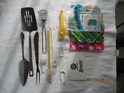 Vintage 13 Pieces Kitchen And Home Tools Andgadgets Collectible Utensils Kitchenware