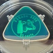 50-cent Triangle Coin – Milk Delivery 2008
