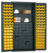72 H X 36 W X 24 D Small Parts Storage And Security Cabinet