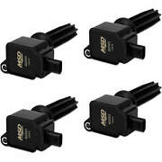 Msd Black Coil For Ford Eco-boost 2.0l/2.3l 4 Pack Exceptional Value Reliable