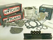 Yfz450 Yfz 450 Big Bore Kit Stage 3 Hotcams Hot Cams 98mm Cylinder Cp Piston