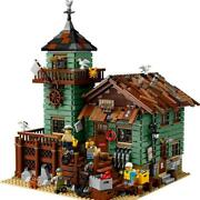 Compatible Creator Series Old Fishing Store Building Blocks Set 2049 Pieces