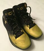 New Under Armour Curry 2 Mvp And039back To Backand039 Sneakers 1300015-001 Mens Size 8.5