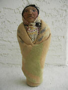 Collectible Vintage Mary Francis Woods Souvenir Indian Character Doll