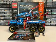 Lego Technic 6x6 Tow Truck 42070 - 100 Complete W/box + Instructions + Extras