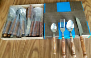 New Old Homestead Flatware 2 Sets 1 Unopened 48 Pcs In Boxes Forks Knives Spoons
