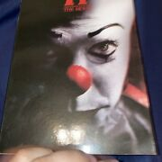 Neca Reel Toys 7 Pennywise 2017 It The Movie Ultimate Turn Back Now Figure New