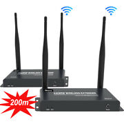 200m Wireless Wifi Hdmi Extender Video Transmitter Receiver With Ir Laptop To Tv