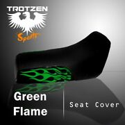 Yamaha Yfm 660 Grizzly 02-03green Flame Seat Cover Tts783sep783