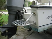 Aluminum Swim Platform For Outboard And Outdrive Boats