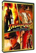 Indiana Jones - The Complete Adventure Collection 5-disc Dvd Set - Brand New