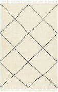 Surya Meknes 8and039 X 10and039 Rectangle Area Rugs In Cream And Black Finish Mek1000-810
