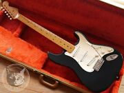 Used Fender American Vintage Andlsquo57 St Type Black 1990 Free Shipping