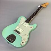 Used Fender Limited Edition Jazz-tele Rosewood Surf Green Free Shipping