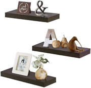 Wall Mounted Floating Shelves Display Ledge Shelf Perfect For Bedroom