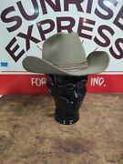 Stetson 3x Beaver Cowboy Hat Winchester Limited Edition Olive Brown Cowboy