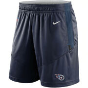 Brand New 2021 Nfl Tennessee Titans Nike Sideline Performance Knit Shorts Nwt