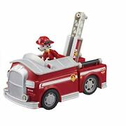 Paw Patrol Action Vehicle With Figure Marshall Fire Truck