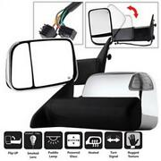 Spyder Auto 9935787 Manual Extendable - Power Heated Adjust Mirror With Led Sign