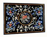 36 X 48 Inches Gemstones Inlay Work Dinette Table Top Marble Kitchen Table Top