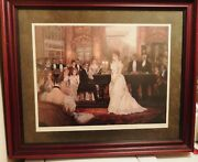 Alan Maley The Recital Signed Limited Edit Numbered Litho Art Print 250/500