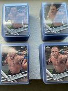 2017 Topps Chrome Ufc Georges St-pierre Rc 96 Lot 100 Cards All Toploaded