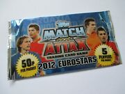 Match Attax 2012 Euro And039eurostarsand039 X 1 Pack 5 Packets Available Ultra Rare