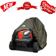 Riding Lawn Mower Cover Waterproof Heavy Duty 600d Storage For Ride On